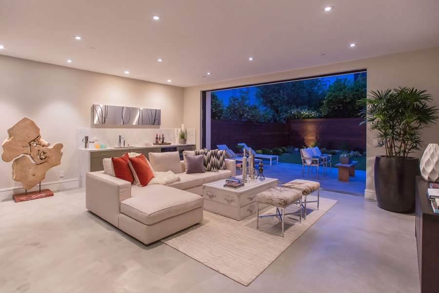 It Was Our Pleasure To Take On This Project The Generous Backyard Area Of Media Room Speaks Family Fun And Relaxation