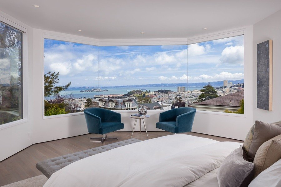 Broadway Master Bedroom With Sweeping Views Of San Francisco Bay