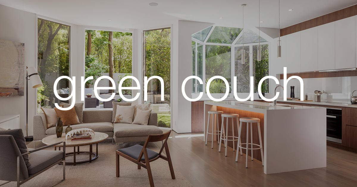 Home Staging San Francisco   Interior Design Firm   Green Couch